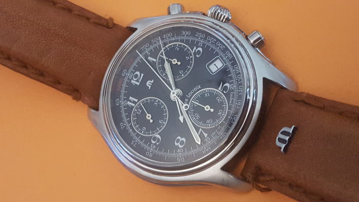 Maurice Lacroix - Chronograph 8748. gentlemen's watch year 90s