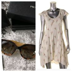 Bundle: Prada stunning cat eyes sunglasses/ Ralph Lauren Dress Denim&supply 8 Both New