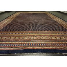 Magnificent handwoven Persian carpet Sarouk Mir 380 x 280cm, made in Iran from the best highland wool