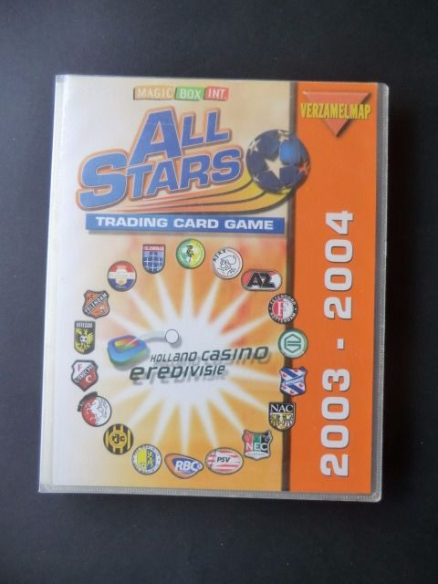 Variant of Panini - All Stars 2003/2004 - Complete album with 324 cards including playing field + rules