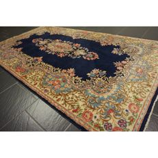 Exclusive antique hand-knotted Persian palace carpet, Lavar Kerman, Persian carpet, 220 x 125 cm, Tapis Tappeto Carpet