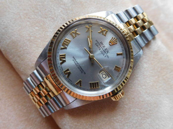 Rolex Oyster Perpetual Datejust - Men's wristwatch - 1987