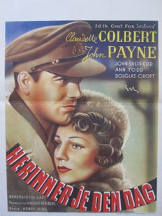 Anonymous-Remember the Day (Claudette Colbert) - 1941