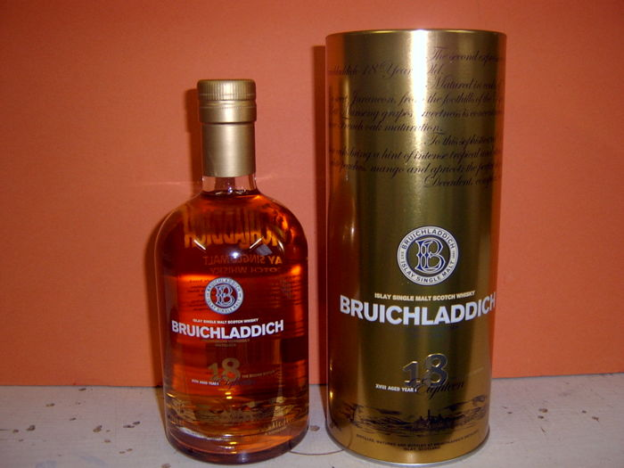 Bruichladdich 18 years old original bottling 700ml  46%