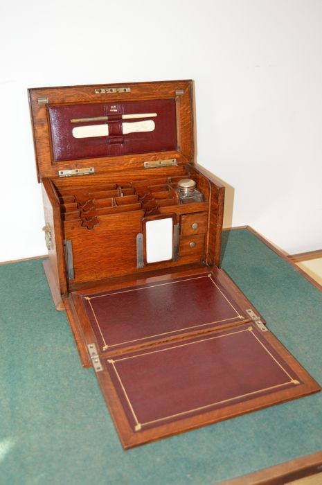 Fine Stationery Cabinet - England- Dated 1919