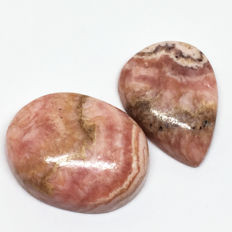 Lot of Fine Quality Rhodochrosite - 106.44 Ct (2)