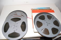 8 x Agfa and Scotch reels with tape 26 cm