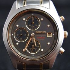 Seiko chronograph - men's wristwatch 2015