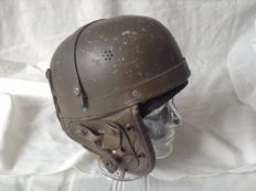 Tank helmet Model m38 (with wool hood)