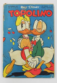 Topolino - #19 - First original edition, not a reprint (1950)