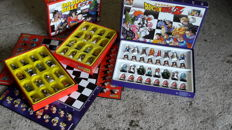 Deagostini Dragonball Z chess games with corresponding weekly magazines