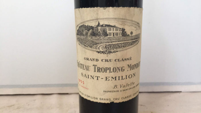 1955 Chateau Troplong Mondot, Saint-Emilion Grand Cru Classè, France - 1 Bottle
