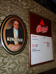 King's Ale BASS advertising 1978 - BASS price list 1980