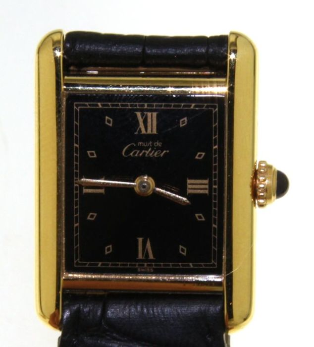 Cartier Tank Quartz - n°17270 - (our internal #8094)