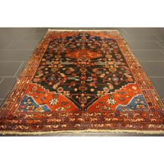 Persian carpet, Malayer Hamadan, 200 x 145 cm, natural colours, made in Iran