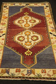 Anatolian rug, Tukey, old, 211 x 113, hand-knotted