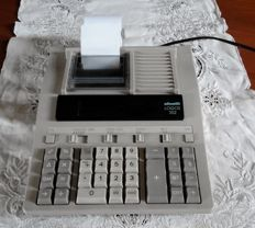 Vintage working Olivetti Underwood 500 calculator - office printing calculator Olivetti logos 352