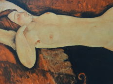 Amedeo Modigliani  - Nude