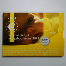 "The Netherlands - year pack/ year collection 2013 ""Baby pack girl silver"", including silver medal."