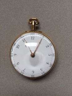 Charles Bough London - pair cased pocket watch ca 1850