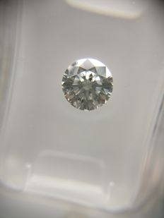 0.70 ct Round cut diamond E SI1
