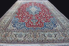Incredible large luxury Naïn 6LA carpet, IRAN, Wool & Silk, approx. 335 x 205 cm, approx. 6.8 m², very finely hand-knotted, EXCELLENT condition...Private collection