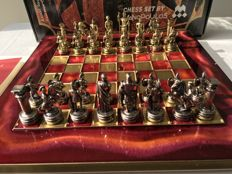Beautiful Greek chess game with original certificate and passport