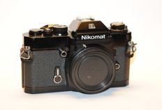 Black Nikon EL NIKOMAT !! in good condition