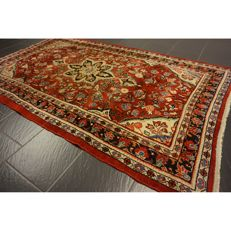 Old high-quality - Persian carpet - collector's carpet - Sarouk - made in Iran - 220 x 130 cm -