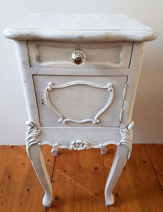 Louis XV style bedside table, France, ca. 1900