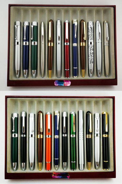 24 pieces Ballpoint pen Collection