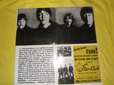 4 Double Beatles Albums. 8 records in total