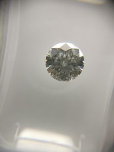 0.68 ct Round cut diamond G SI1