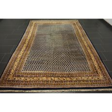 Magnificent hand-knotted oriental palace carpet, Sarouk Mir, 300 x 215 cm, made in India, fantastic highland wool