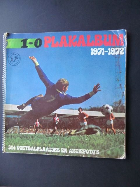 Variant Panini - '1-0 ' - Season 1971/1972 - Complete album with 324 soccer pictures and action photos
