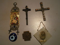 Lot of very pretty religious jewellery - France and Turkey - 19th and 20th century