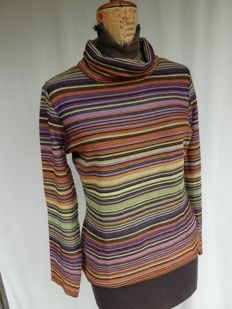 Missoni Sport – Polo neck stretch jersey – 100% made in Italy – size: M (IT)