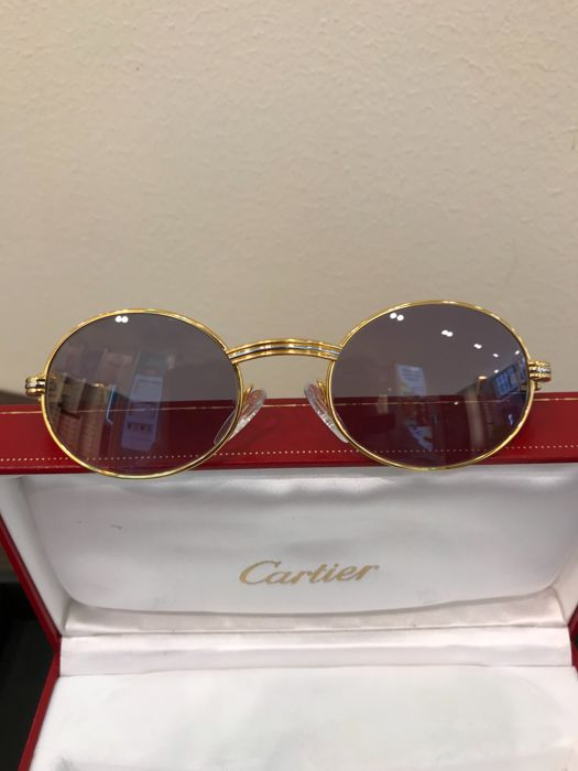 Cartier- Giverny Palissander Rosewood - Sunglasses - Unisex