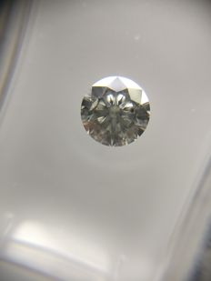 0.62 ct Round cut diamond F SI1