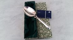 Large handmade spoon in silver 925