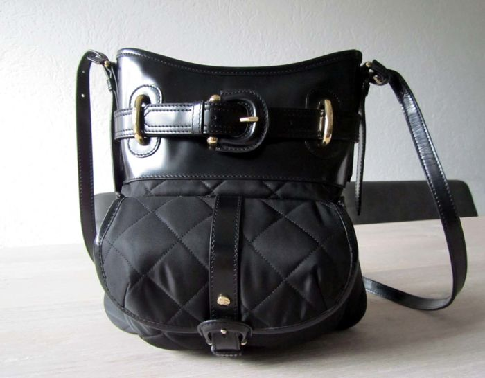 bac6a850586a Burberry – Quilted leather cross-body bag –   No minimum price ...