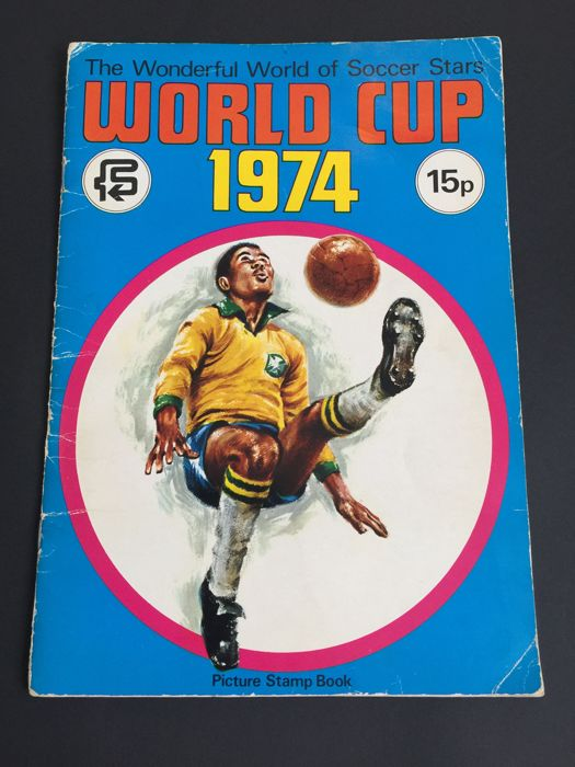 Variant of Panini - FKS FIFA Worldcup 1974 Germany - Complete album