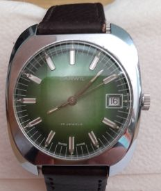 DARWIL — SWISS-Made men's wristwatch
