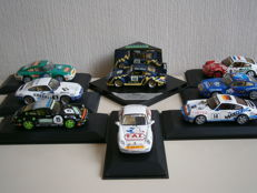 Vitesse / Minichamps - Scale 1/43 - Lot of 8 Porsche 911 type Rally of the 2000s