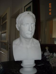 Portrait bust of emperor Napoleon replica after Bartolini - early 20th century