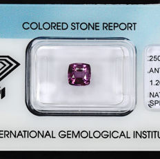 Spinel – 1.26 ct, No Reserve Price