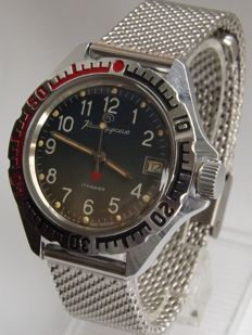 Vostok Chistopol 3aka3 MO CCCP Soviet military mens watch made in 80s in USSR Serviced!
