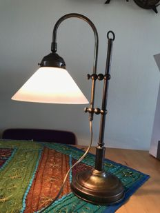 Vintage copper adjustable table lamp by Herda Nederland, second half of the 20th century