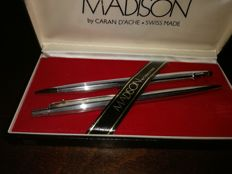 Madison pen and mechanical pencil in box