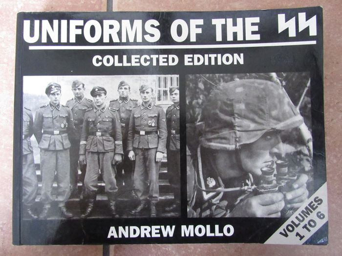 Andrew Mollo - Uniform of the SS - Collected Edition - Volume 1 through 6 - 1997